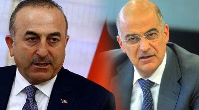 """Çavuşoğlu- Dendias ortak basın toplantısında gerginlik: """"Türkiye'ye yönelik ithamlar kabul edilemez"""""""
