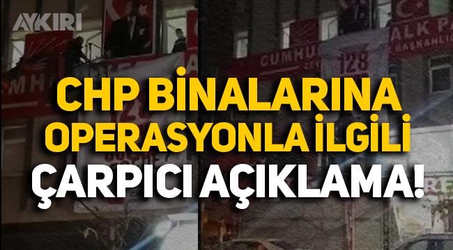 CHP binalarına operasyonla ilgili Kılıçdaroğlu'ndan çarpıcı açıklama