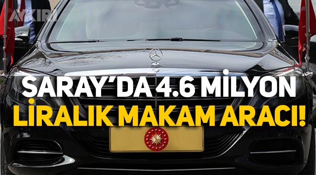 CHP'li Yavuzyılmaz, Cumhurbaşkanlığı'ndaki 4.6 milyon liralık makam aracının faturasını paylaştı!
