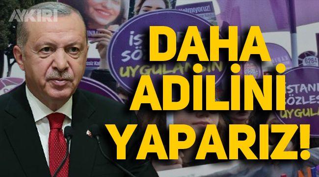 Erdoğan'dan İstanbul Sözleşmesi açıklaması: 'Daha adilini, daha güzelini, daha güçlüsünü yaparız'