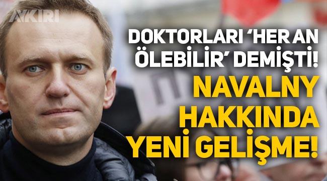 """Doktorları """"Her an ölebilir"""" demişti! Navalny açlık grevini sonlandırdı"""