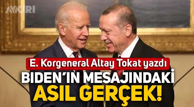 E. Korgeneral Altay Tokat yazdı: Biden'in sözde 'Ermeni soykırımı' mesajındaki asıl gerçek!