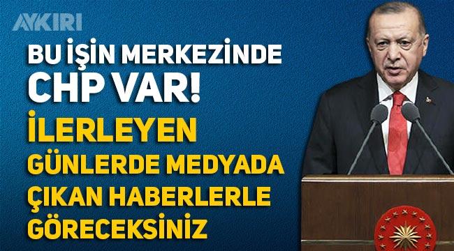 """Erdoğan'dan amiral bildirisi açıklaması: """"Bu işin merkezinde CHP var"""""""