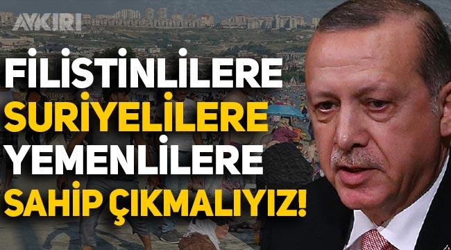 Erdoğan: Filistinlilere, Yemenlilere, Suriyelilere sahip çıkmalıyız