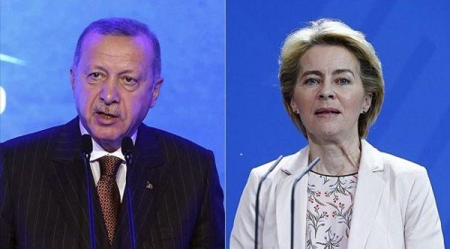 Cumhurbaşkanı Erdoğan'ın AB liderlerleri ile görüşmesinde o lider ayakta kaldı!