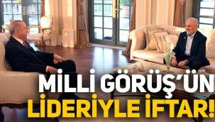 Erdoğan, Milli Görüş lideri Oğuzhan Asiltürk ile iftar yaptı