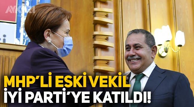 Eski MHP'li vekil Mehmet Ay, İYİ Parti'ye katıldı