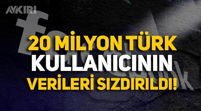 Facebook'ta skandal: 20 milyon Türk kullanıcının verileri sızdırıldı