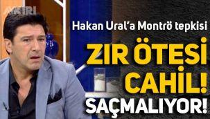 Fatih Altaylı'dan Hakan Ural'a: Zır ötesi cahil!