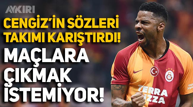 Galatasaray'da 'Donk, idmanı boykot etti, maçlara çıkmak istemiyor' iddiası!