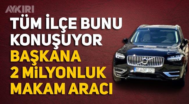 Gümüşova Belediye Başkanına 2 milyonluk araç!