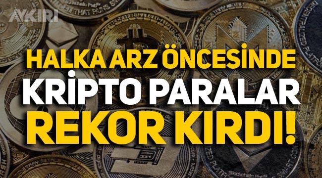 Halka arz öncesinde Bitcoin ve Ethereum rekor kırdı!