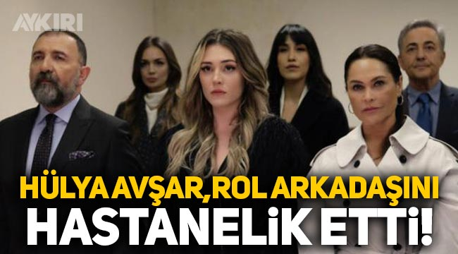Hülya Avşar, rol arkadaşı Ertuğrul Postoğlu'nu hastanelik etti, çenesini çıkardı!
