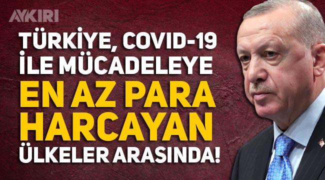 IMF araştırması sonuçları açıklandı: Türkiye, Covid-19 ile mücadeleye en az para harcayan ülkelerden