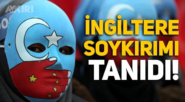 İngiltere Parlamentosu, Çin'in Uygur Türklerine soykırım uyguladığını söyledi