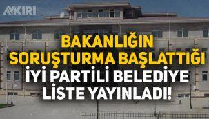 İYİ Partili Yerköy Belediyesi'nden İçişleri Bakanlığı'nın soruşturmasına tepki: