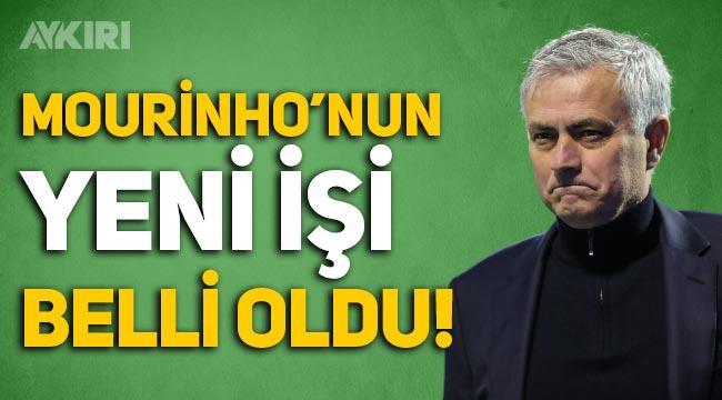 Jose Mourinho'nun yeni işi belli oldu!