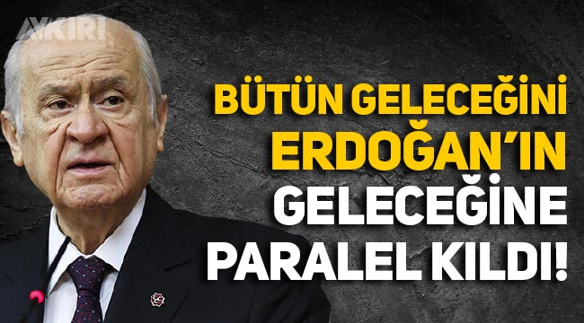 Kılıçdaroğlu'ndan Bahçeli'ye: Bütün geleceğini Erdoğan'ın geleceğine paralel kıldı