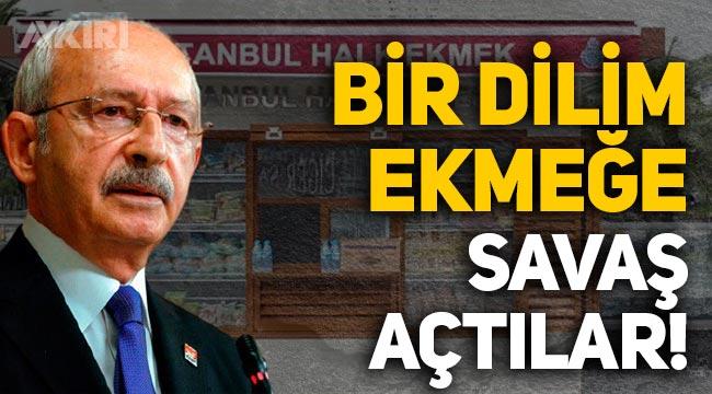 """Kılıçdaroğlu'ndan Halk Ekmek tepkisi: """"Bir dilim ekmeğe savaş açtılar"""""""