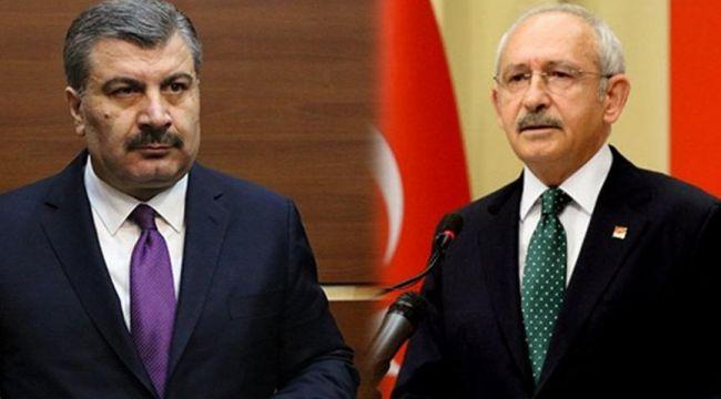Fahrettin Koca'dan Kemal Kılıçdaroğlu, Bilim Kurulu tepkisi