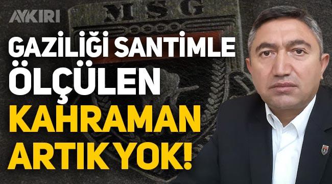 Malul Sayılmayan Gaziler Derneği Başkanı Mesut Kılıçaslan hayatını kaybetti