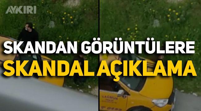 Mersin'de skandal görüntülere skandal açıklama