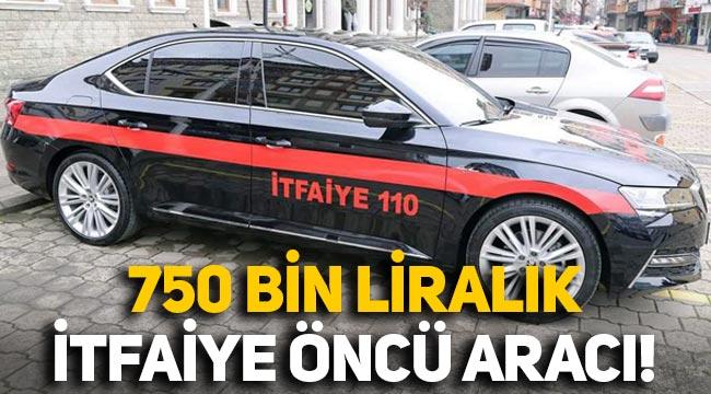 MHP'li belediye 750 bin liralık arabayı 'itfaiye öncü aracı' yaptı