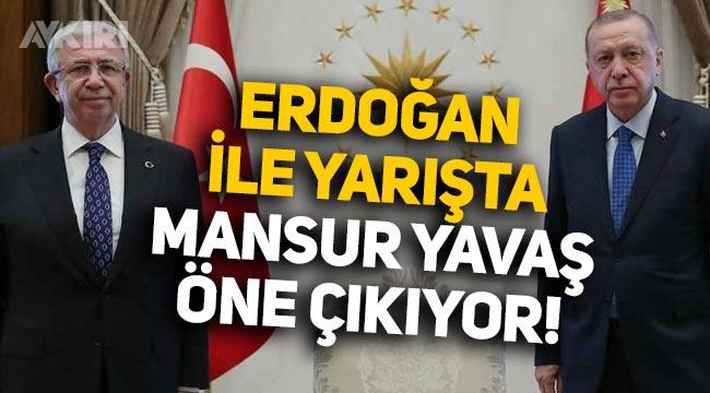 Optimar anketi: Erdoğan'la yarışta Mansur Yavaş öne çıkıyor
