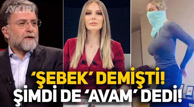 """Oryantal yapan Hande Sarıoğlu'na """"Şebek"""" diyen Ahmet Hakan, şimdi de """"Avam"""" dedi!"""