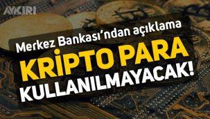 Resmi Gazete'de yayımlandı: Kripto paralar, ödemelerde kullanılmayacak!
