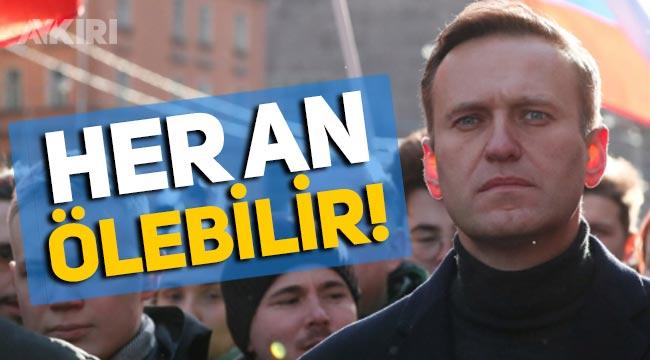 Rusya'da Putin muhalifi lider Navalny her an ölebilir