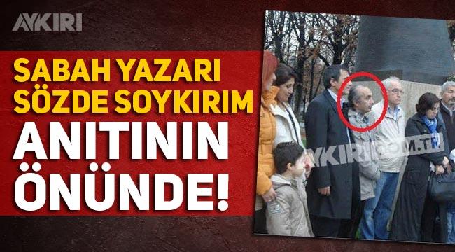 Sabah'ta sözde soykırım skandalı büyüyor! Mehmet Çek sözde soykırım anıtında!