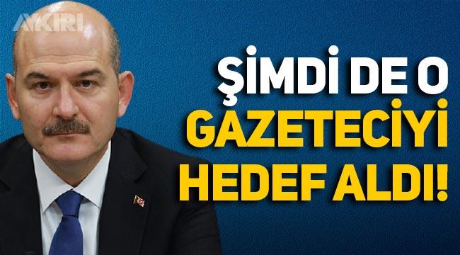 Süleyman Soylu, gazeteci Barış Pehlivan'ı hedef aldı!
