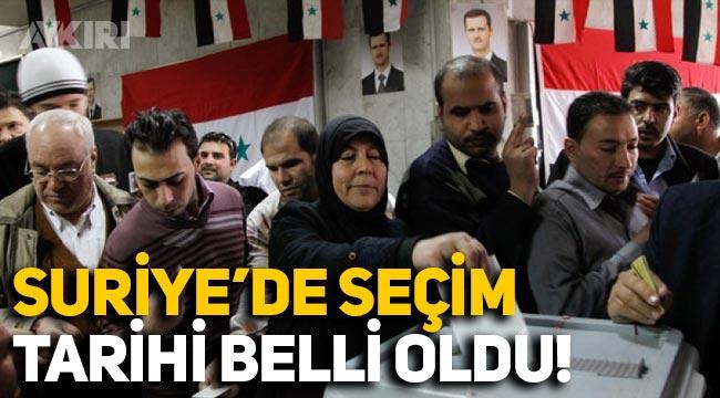 Suriye'de seçim tarihi belli oldu: Esad aday olabiliyor mu?