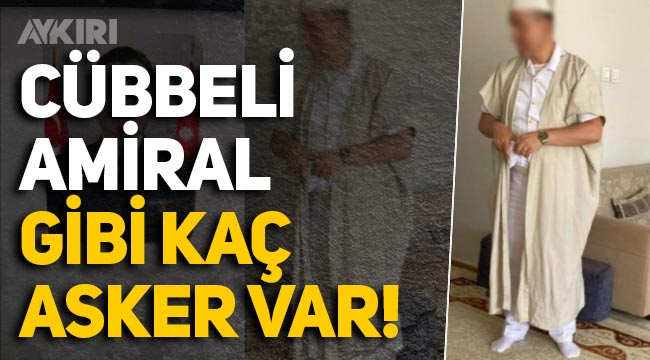 Tarikat evine giden Tuğamiral, Meclis gündeminde: Cübbeli amiral gibi kaç asker var?