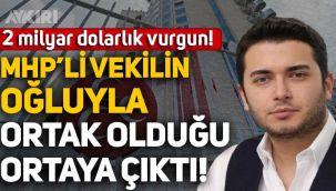 Thodex'in kurucusu Faruk Fatih Özer'in MHP'li Saffet Sancaklı'nın oğluyla ortak olduğu ortaya çıktı!
