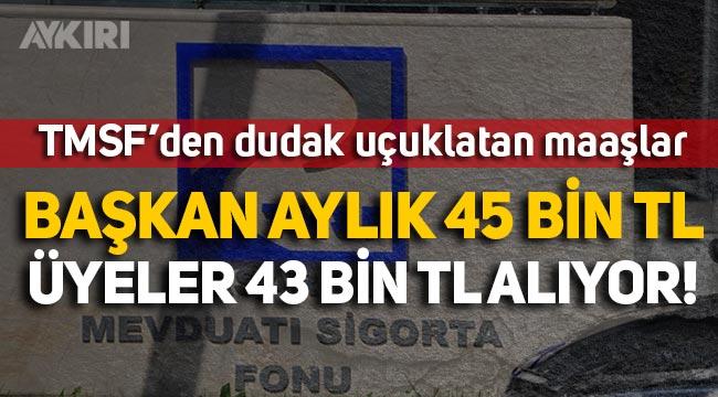 TMSF yöneticilerinin dudak uçuklatan maaşı: Başkan aylık 45 bin TL, üyeler 43 bin lira alıyor!