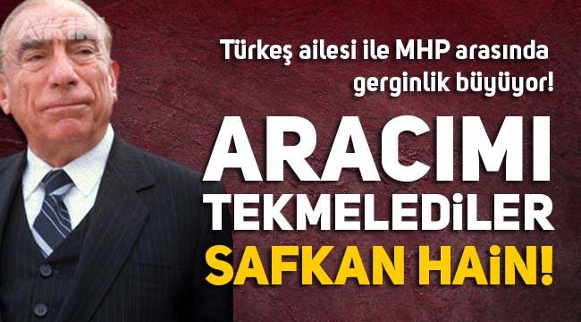 Türkeş ailesi ile MHP yönetimi arasında gerginlik büyüyor, çok sert açıklama