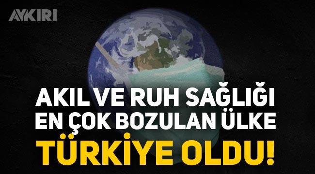 Türkiye Pandemide Akıl ve Ruh Sağlığını Kaybetti