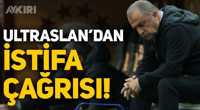 ultrAslan'dan Fatih Terim ve Mustafa Cengiz'e istifa çağrısı