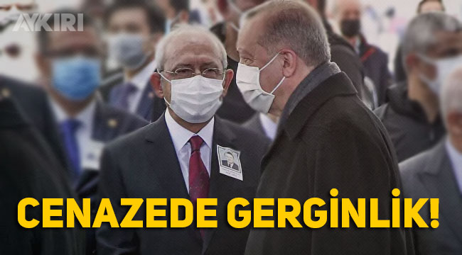 Yıldırım Akbulut'un cenaze töreninde Kılıçdaroğlu ve Erdoğan selamlaşmadı