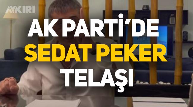 AK Parti'de Sedat Peker telaşı!