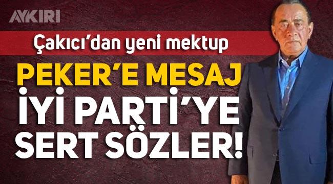 Alaattin Çakıcı, Sedat Peker-AK Parti kavgasında tarafını seçti, İYİ Parti'yi de hedef aldı
