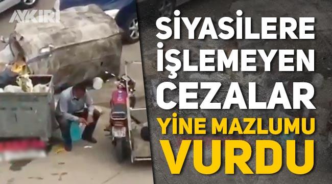 Ankara'da çöp toplayıcısına kesilen cezaya tepkiler büyüyor!