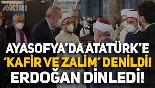 Ayasofya'da Atatürk'e