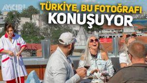 BBC'nin yayınladığı İstanbul fotoğrafı sosyal medyanın gündemine oturdu