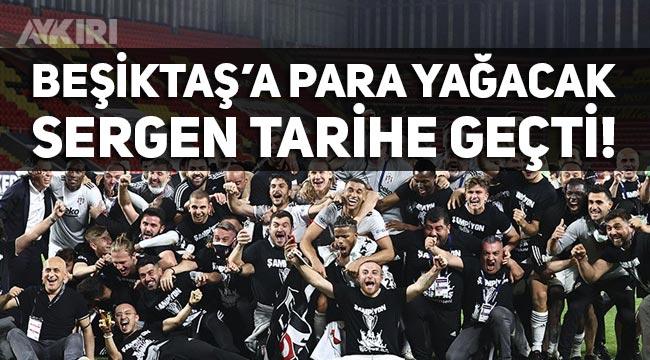 Beşiktaş 3 yıl sonra yeniden şampiyon, Sergen Yalçın nasıl tarihe geçti, Beşiktaş ne kadar şampiyonluk ikramiyesi alacak