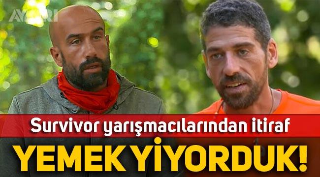Cemal Hünal ve Çağrı Atakan'dan Survivor itirafı: Yemek yiyorduk!