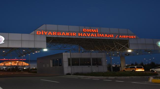 Diyarbakır Havalimanı 1 ay boyunca uçuşa kapatıldı