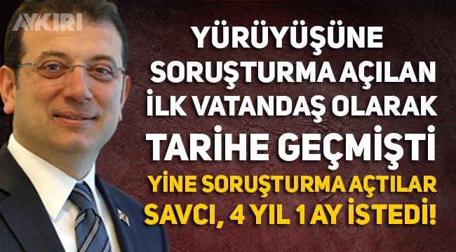"""Ekrem İmamoğlu hakkında YSK üyelerine hakaret iddianamesi: """"4 yıl 1 ay hapsi isteniyor"""""""